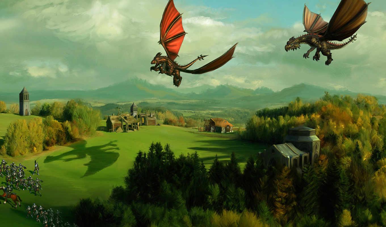 spellforce, dragons, дракон, game, dota, игры, possible, страница, два,