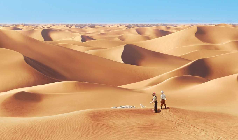 пустыня, lost, люди, песок, tintin, cartoon, кость, movie, сниматься,