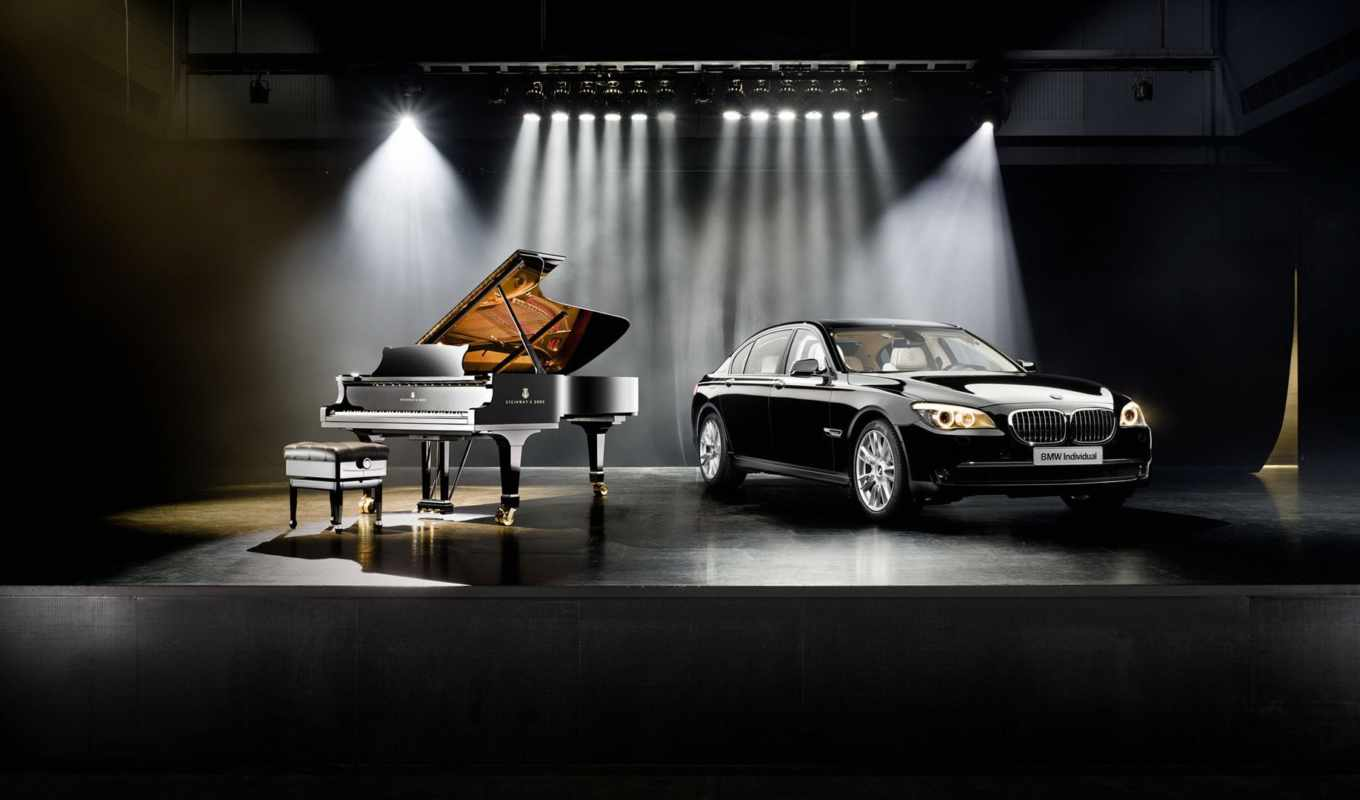 bmw, steinway, sons, individual, piano,