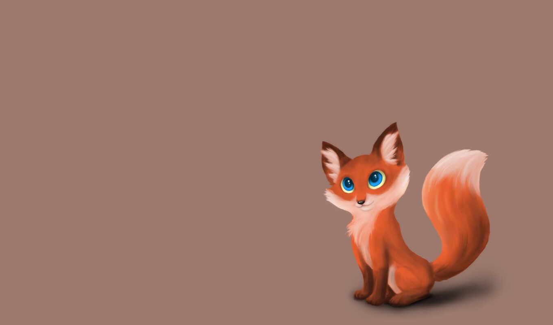 animal, фокс, sweetheart