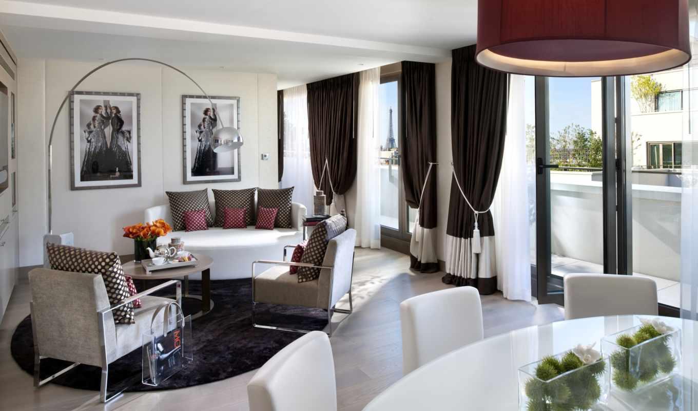 интерьер, дизайн, выпуск, обоях, комната, стиль, белый, светлый, mandarin, oriental, wilmotte,