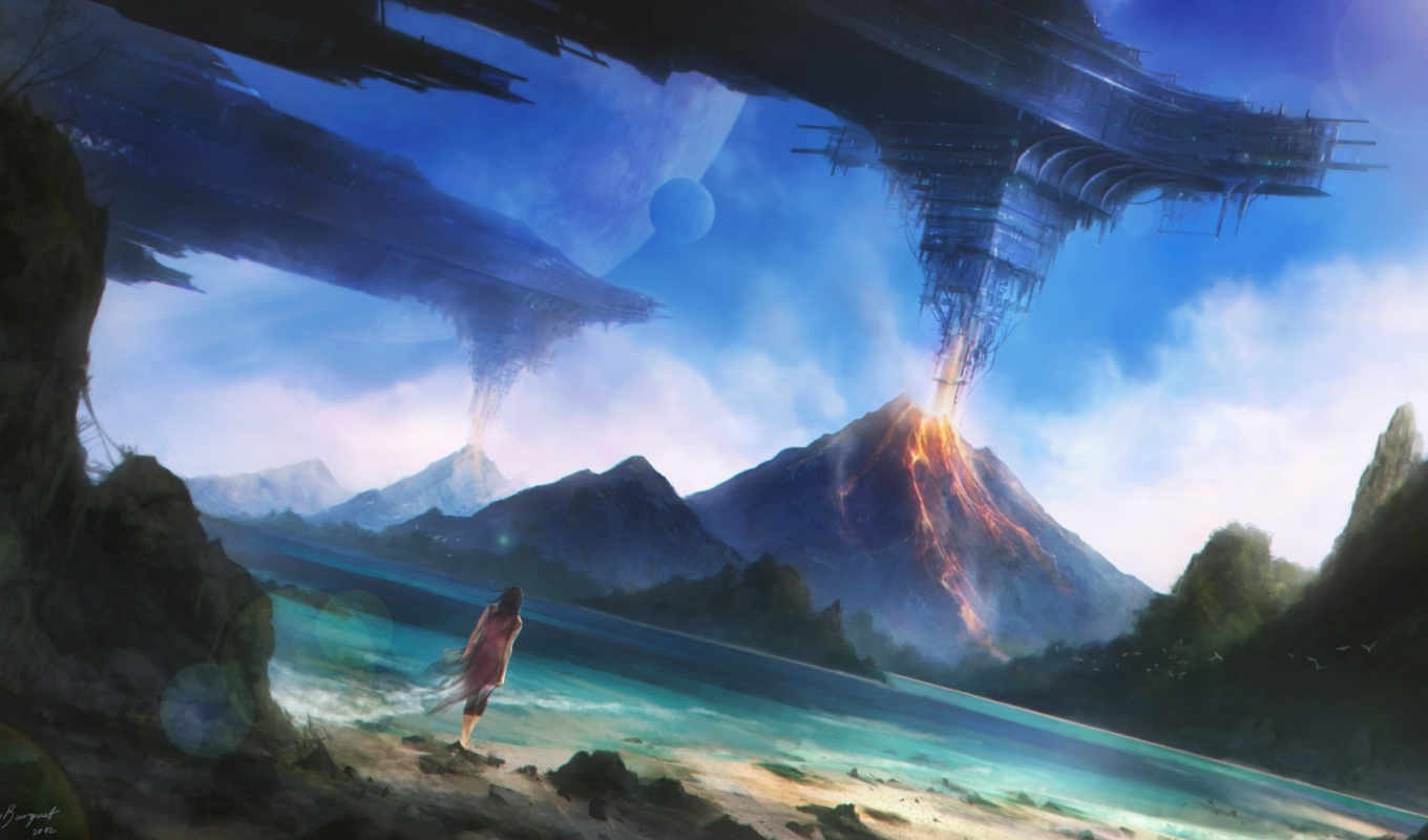 featuring, dialogues, beach, landscapes, planets, wide, barquet, juan, carlos, future,
