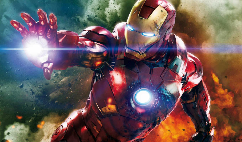 мужчина, iron, сниматься, мстители, герой, фильмы, телефон, зелёный, гигант,