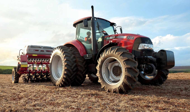 farmall, case, трактор, por
