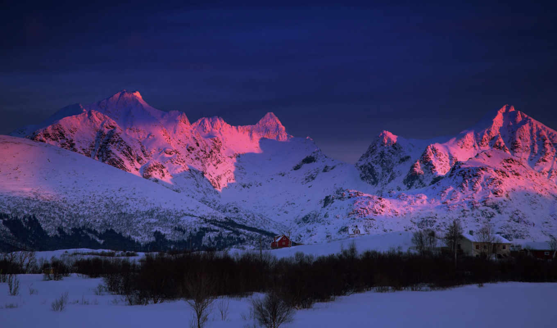 wallpalerz, горы, февр, природа, количество, качество, от, jpeg,