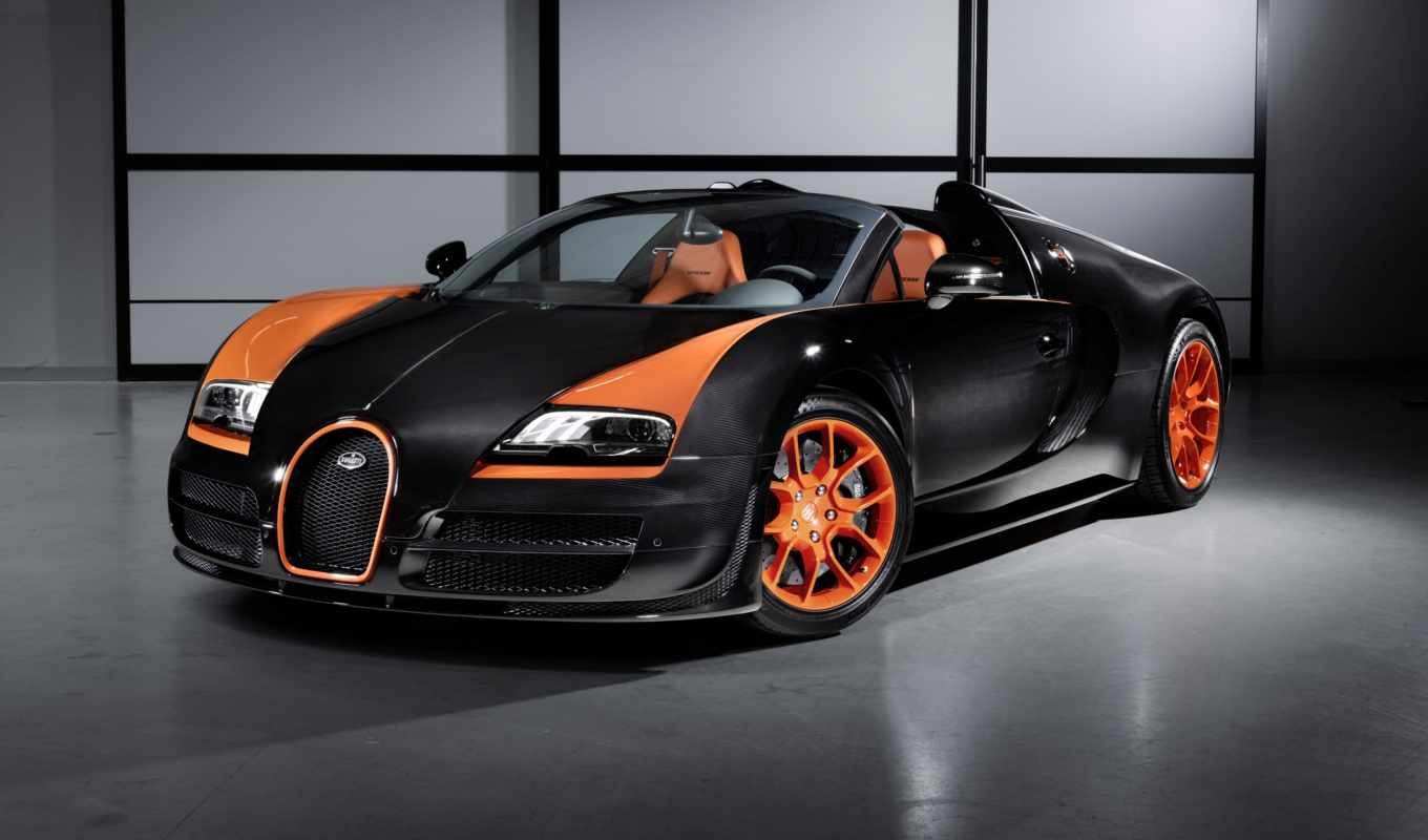 veyron, vitesse, grand, sport, wrc, car, record, edition, front, angle, world,