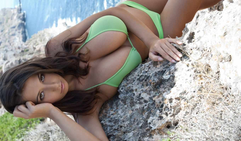 Яна дэфи на пляже 12 фотография