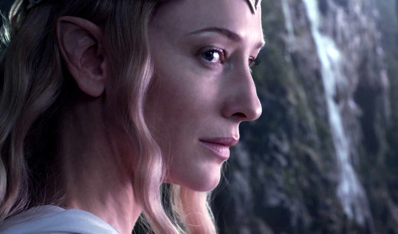 galadriel, cate, blanchett, lord, hobbit, rings,