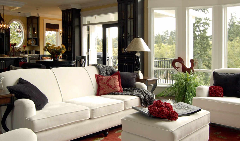 американский, interer, stil, квартиры, интерьера, квартир, dizain, американского, домов,