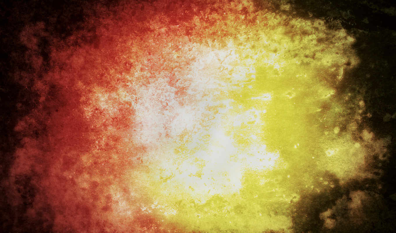 abstrakciya, огонь, краски,