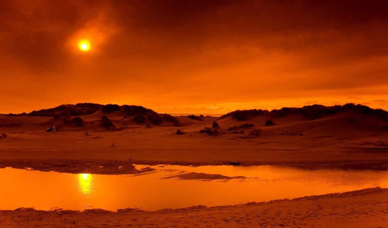 ultra, пустыня, тоже, берег, скалы, небо, природа, песок,