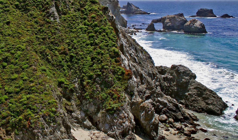 nature, sfondi, gallery, nggallery, screen, photos, поросшие, горы, склоны, savers, моря, берега,