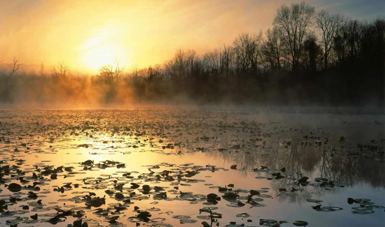 cuyahoga, долина, восход, national, море, ohio, recreation, площадь, природа, among, закат,