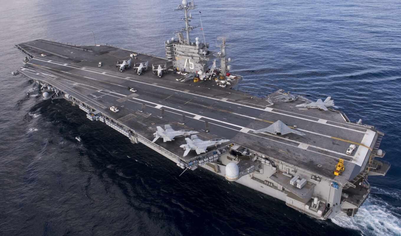 truman, гарри, авианосец, usa, uss, вмф, авианосце, корабль,
