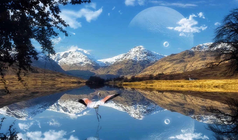 фон, landscapes, widescreen, free,