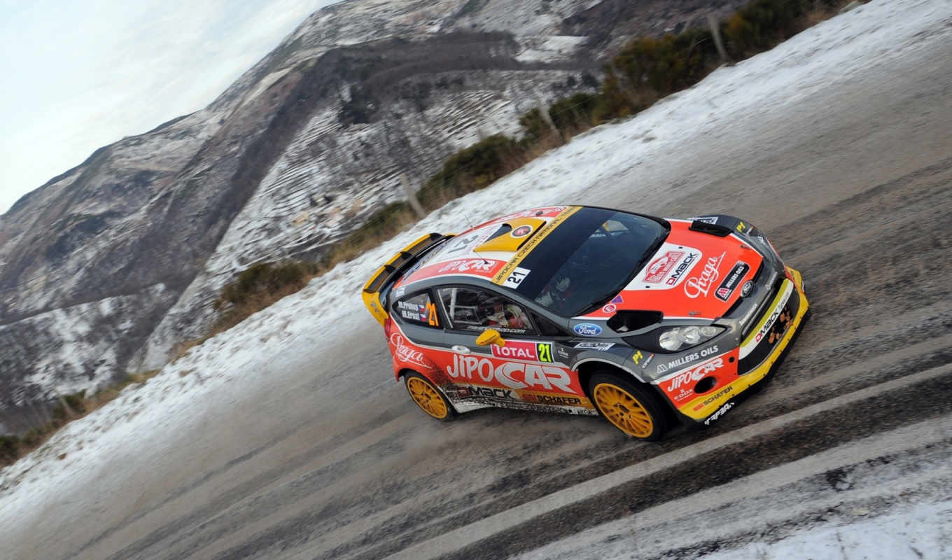 ford, wrc, rally, fiesta, монте, carlo,