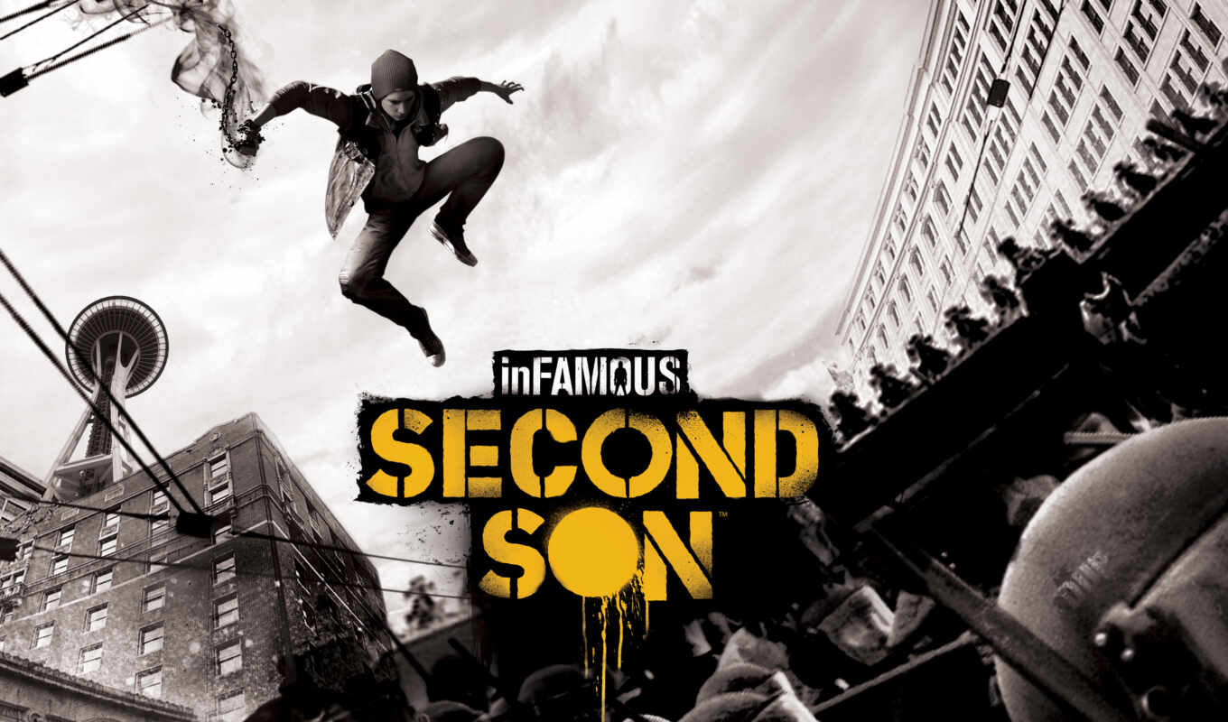 second, son, infamous, мар,