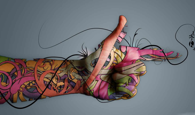 рука, креатив, free, hands,