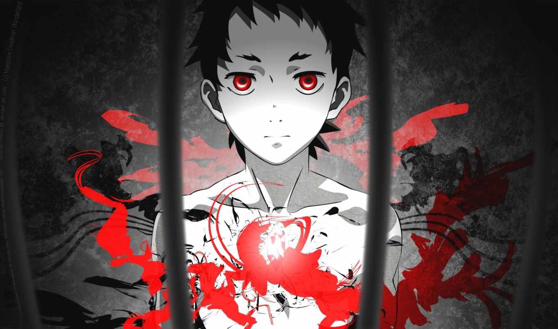 смертников, чудес, country, anime, deadman, wonderland,