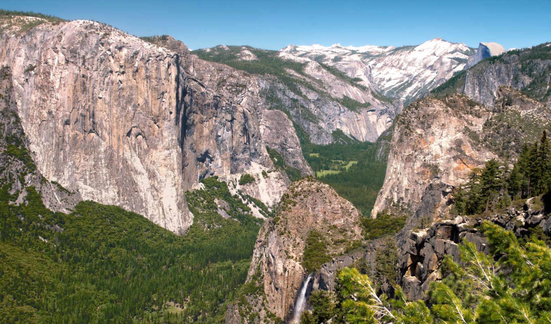 desktop, yosemite, california, park, national, природа, фон,