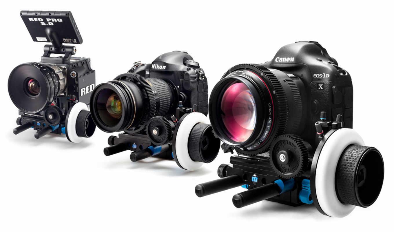 canon, nikon, red, фотоаппарат