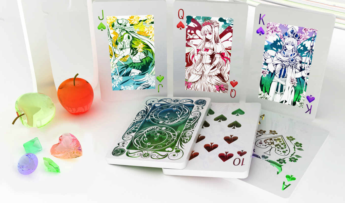 карты, игра, royal, спорт, straight, pattern, cards, изображение, flush, fruit, this,