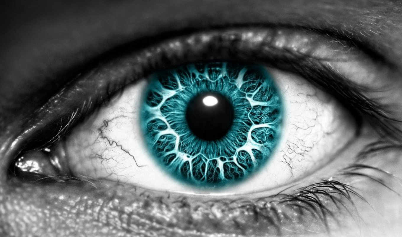 глаз, рисунок, рисованный, глаза, чёрно,