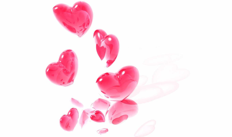 сердечки, розовые, розовый, свой, совершенно,
