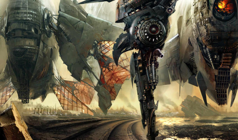 корабли, космические, фантастика, art, planet, даниэль, космос, dociu, корабль, картинка,