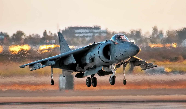 обои, AV-8B Harrier, самолёт, aircraft, wallpaper,