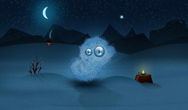 winter, desktop, ночь, widescreen, год, new, bmw,