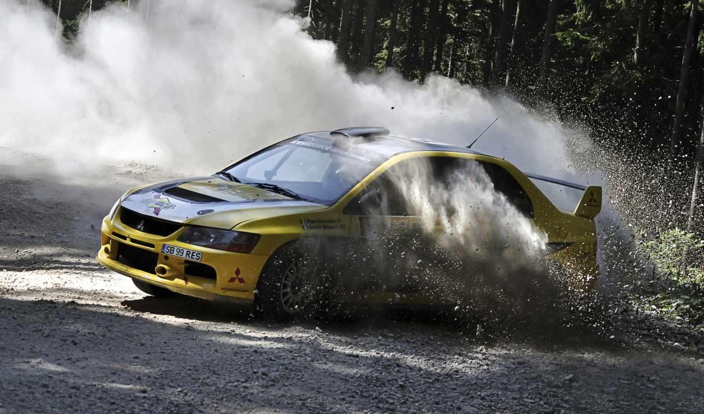 mitsubishi, evo, rally, обои, авто, машины, art, г