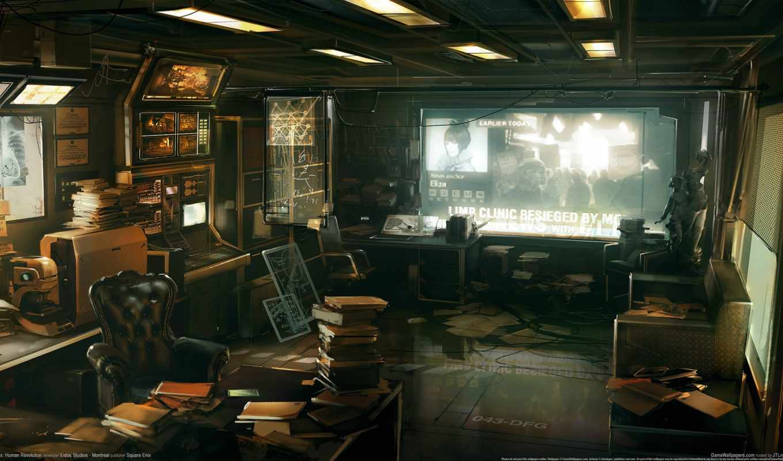 cyberpunk, стиле, интерьеры, интерьере, яndex, deus, офис, innylz, коллекциях, игры,