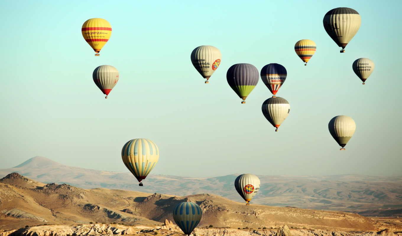 небо, мяч, aerial, гужва, сергей, воздушные, фантастика, шары, город,