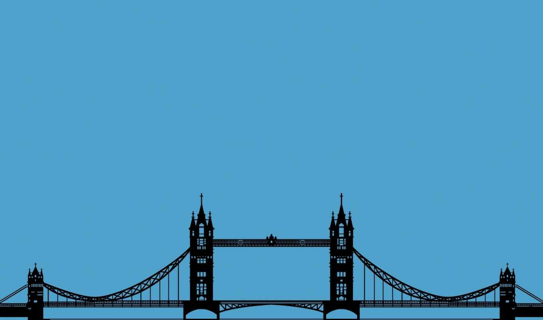 bridge, tower, london, уэрский, мост, та, лондон, англия, картинка,