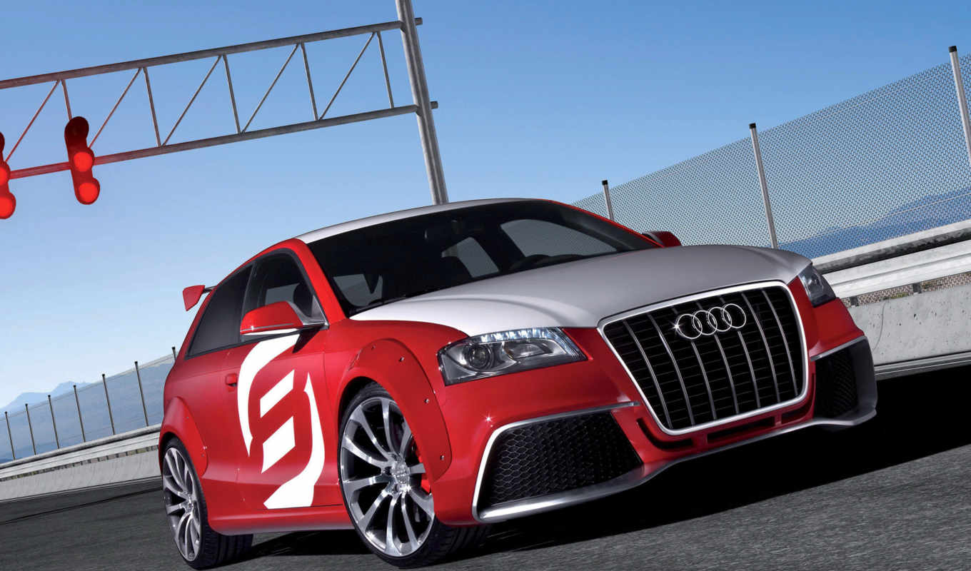 audi, clubsport, quattro, tdi, red, авто, машины, автомобили,