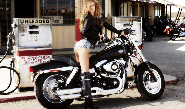 девушки, мотоциклы, но,