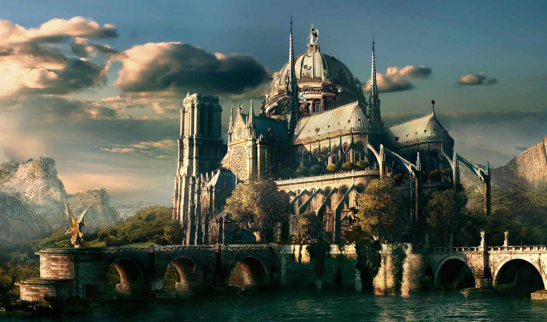 город, favourite, города, fantasy,