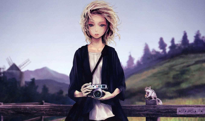 короткие, волосы, девушка, blonde, категории, самое, art,