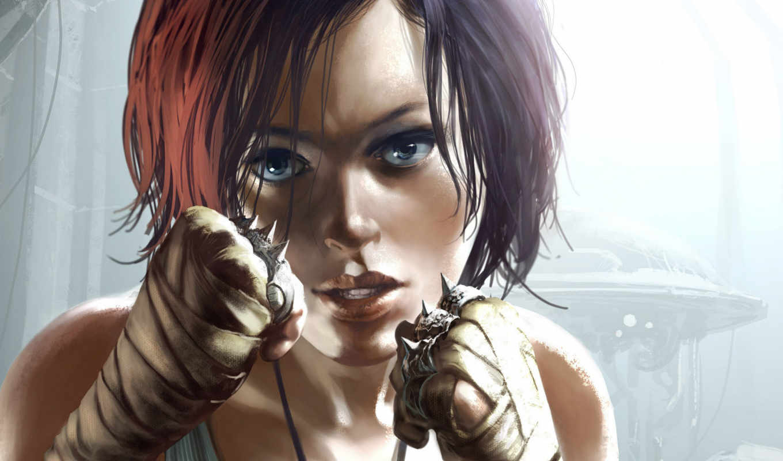 девушка, боевая, remember, чтобы, fantasy,