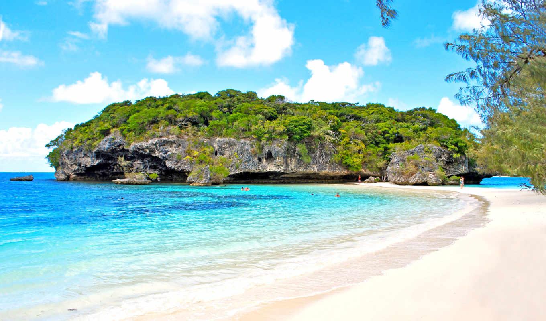 new, caledonia, pines, isle, остров, pacific, south,