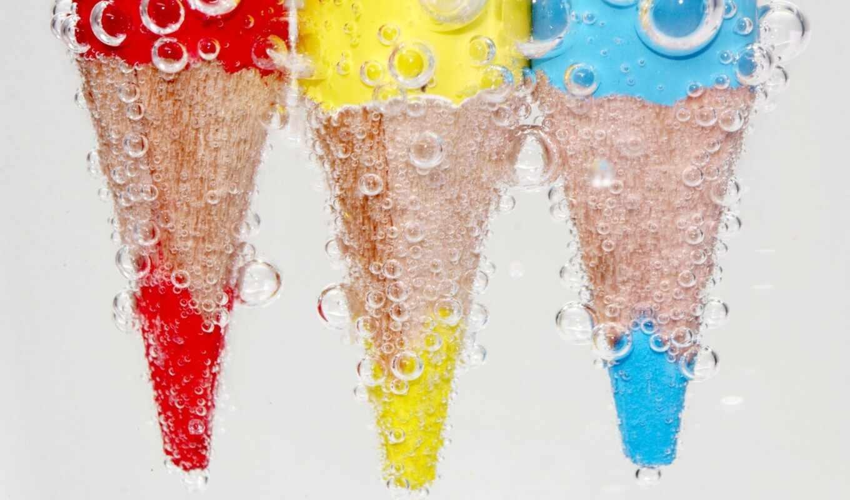 карандаши, цветные,