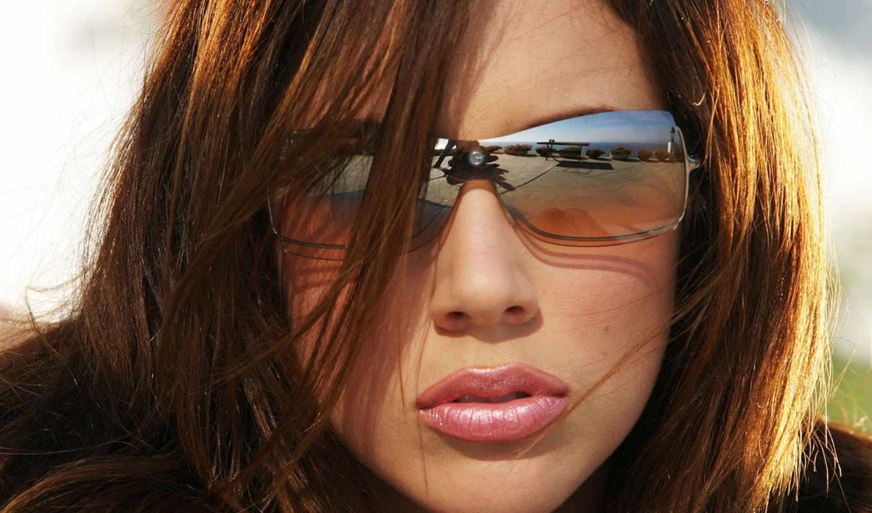 девушка, очках, девушки, солнечных, возможность, внешностью,