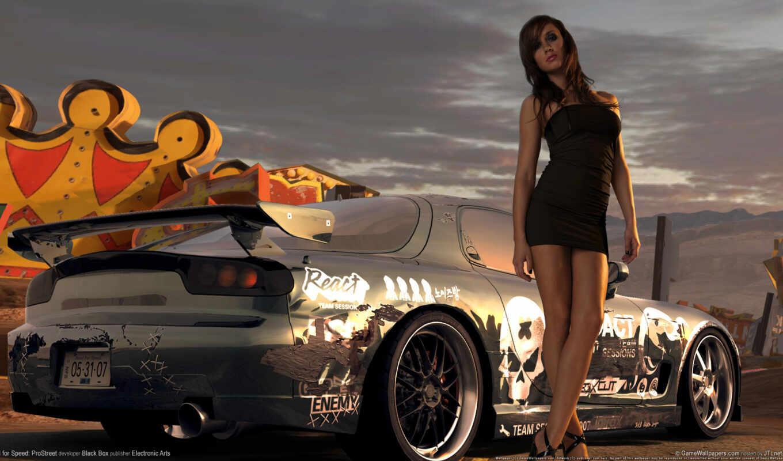 Скачать Обои Девушки И Автомобили