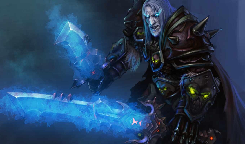 warcraft, world, смерть, рыцарь