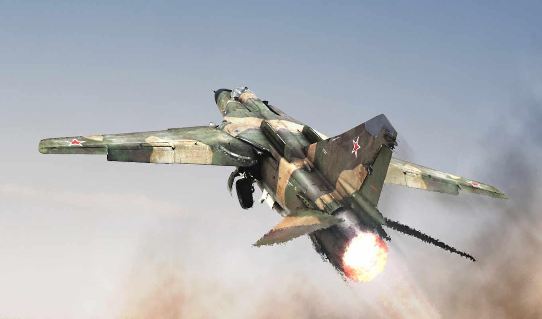 mig, flogger, fighter, миг, воздух, resim, miliraty, fire, war, speed, sky,