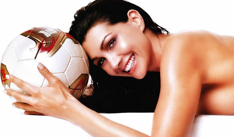 девушки, мячом, девушка, бе, мяч, красивых, ок, подборка,