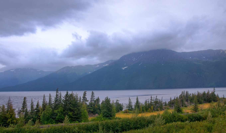 картинка, природа, landscape, usa, горы, небо,