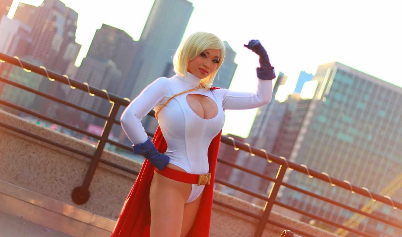 cosplay, powergirl, you, graziano, crystal, more, усилитель, hobbyearth, девушка, zoet,