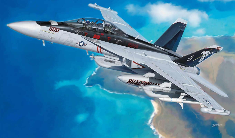art, aviation, ea, growler, aircraft, boeing, вконтакте, painting, airplane, боинг,